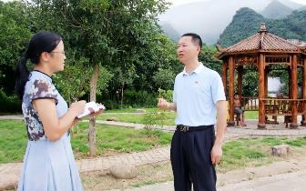 青莲镇党委书记: 实施乡村振兴,创旅游小镇
