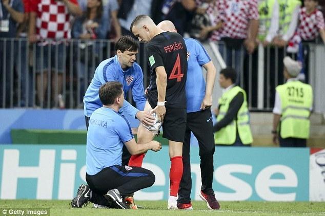 噩耗-克罗地亚崩盘?曝晋级功臣佩里西奇或因伤无缘世界杯决赛