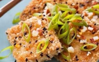 豆腐这样做不费油不粘锅 外酥里嫩超级下饭!