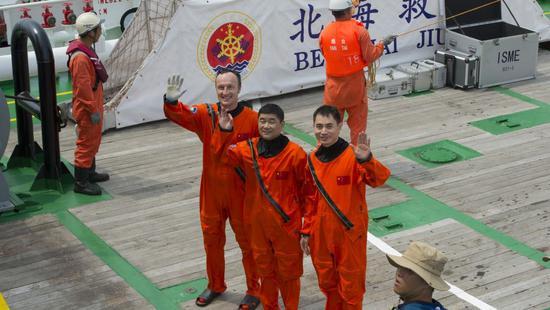 欧洲宇航员来华训练感受中国热情:就像个大家庭