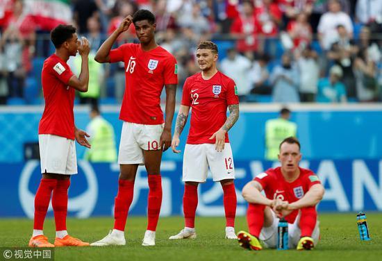 又快乐又玄学!英格兰拿世界杯第4但输3场球并列最多