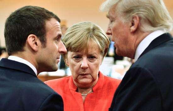 英媒:特朗普称欧盟是敌人 欧盟主席这样调侃回应