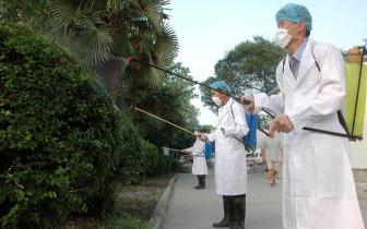 福州夏季消毒灭源集中行动启动 科学规范消灭毒源