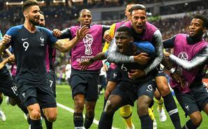法国4-2克罗地亚夺大力神杯