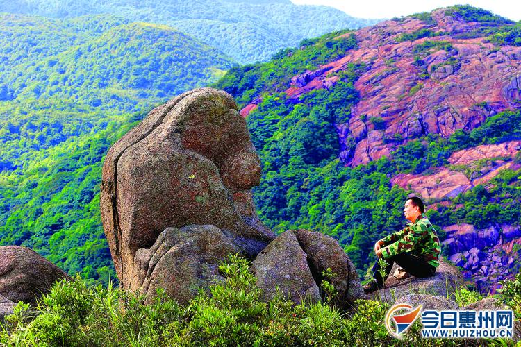 惠州森林行首站走进广东象头山国家级自然保护区