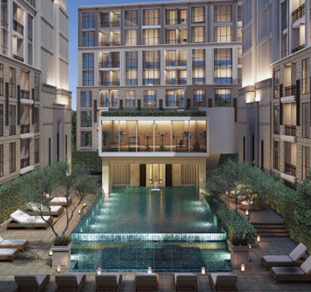 曼谷RAMA9现房,轻奢级花园公寓
