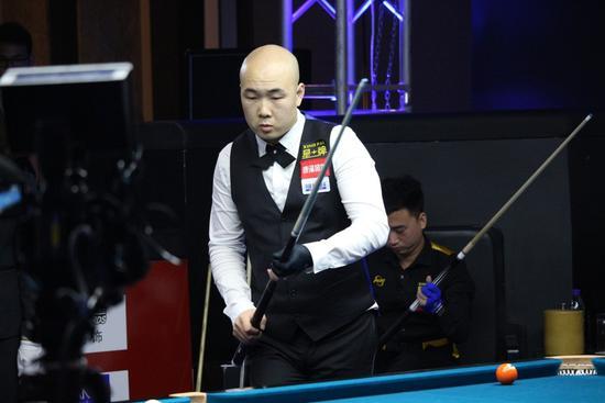 中式台球中国公开赛北京开战 楚秉杰首轮逆转杨帆
