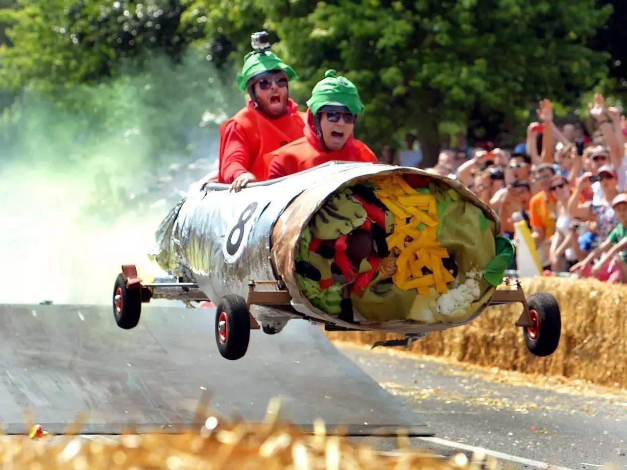 古德伍德速度节:全球车迷的饕餮盛宴