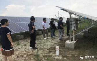 潜江市光伏扶贫电站项目检查验收工作完成