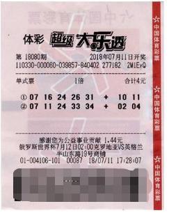 他坐公交坐过了站 机选两注大乐透中756万元