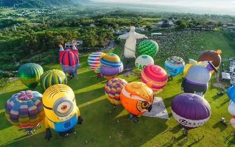 台湾国际热气球嘉年华 | 用上帝的视角看大地