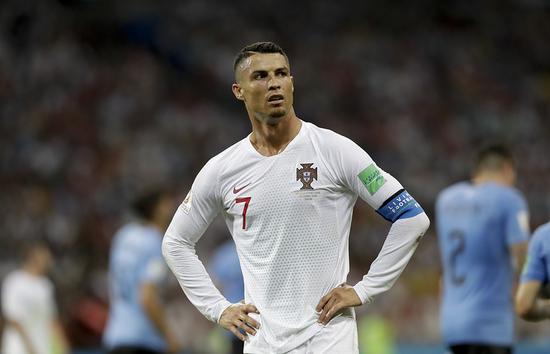 C罗抢风头!世界杯期间俄媒提及最多 梅西仅第四