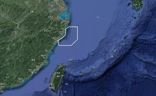 解放军东海演习区平移覆盖台湾 台军方自我安慰