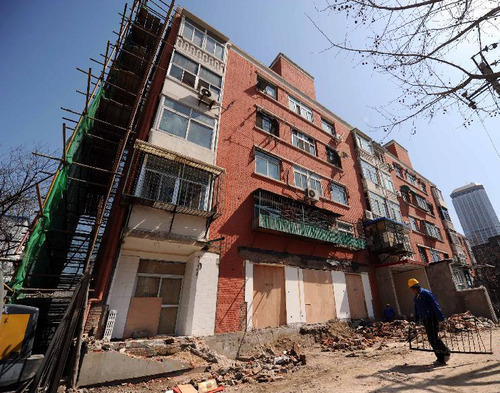 确保群众满意 津城今年老旧小区改造100%开工