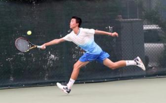 梦与希望 青春与热血 网球少年绽放省运赛场