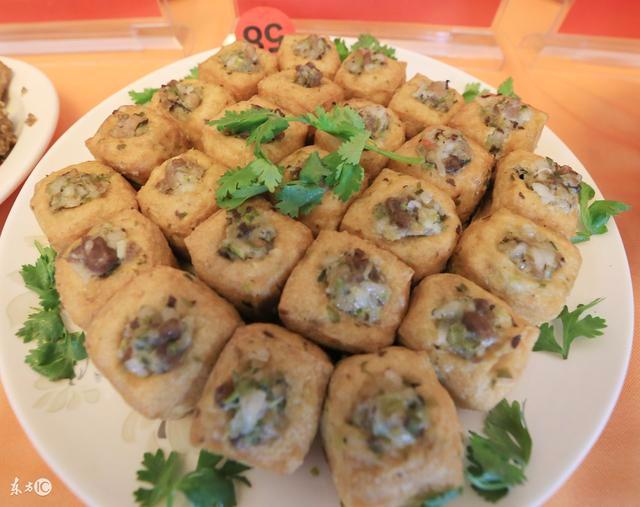 广东韶关美食篇——糯米酿豆腐