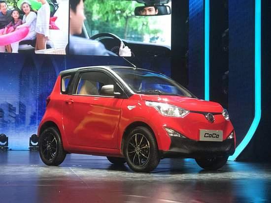 雷丁汽车发布MIA架构车型雷丁·COCO 售价4~6万