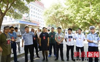 市政协委员十人活动小组调研盐湖区交管工作