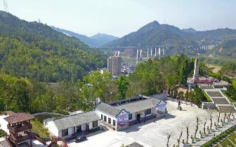 昔日三河坝战役所在地 今发展红色文化旅游产业