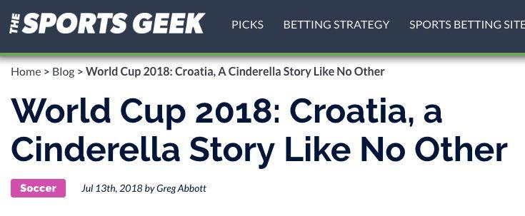 不要迷信克罗地亚 关于它的新闻可能只是个传说