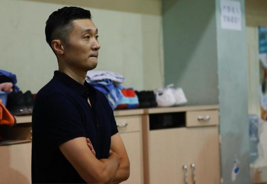 准备切换教练模式的刘炜