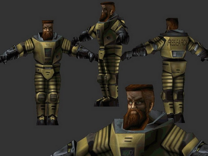我们所熟知的游戏角色最初的样子