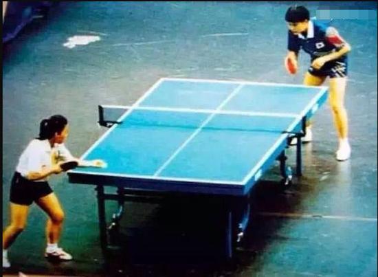 邓亚萍谈94亚运负何智丽:我尽力了 我很敬佩她