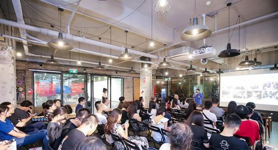 科技寺举办创业交流活动 创业者分享经验