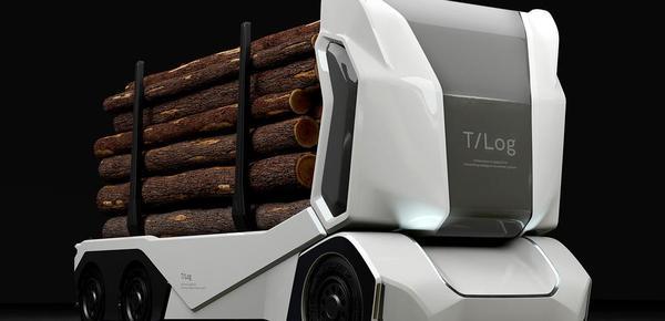 环保新高度!零排放自动驾驶卡车惊艳亮相