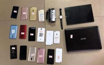 北海警方抓获3盗贼 追回手机电脑相机珠宝等……