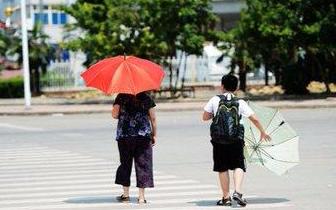 """受台风""""安比""""影响 22日福州气温可能重回35℃"""
