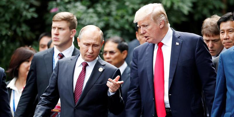 要尽地主之谊?特朗普已邀请普京秋季访问华盛顿