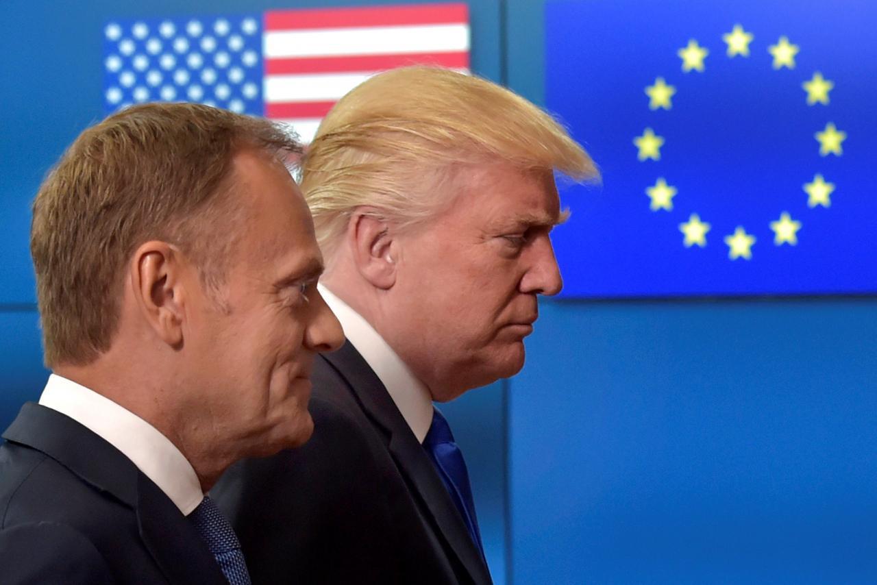 罚谷歌50亿美元 特朗普:欧盟占美国便宜该到头了