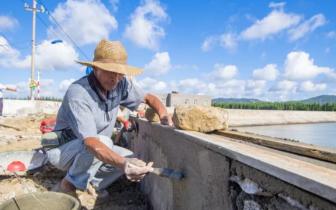 平潭幸福洋1号受损海堤完成修复 主要道路恢复通行