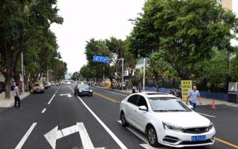 地铁2号线沿线道路陆续恢复 金祥路示范段已通车