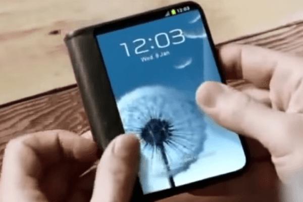 可折叠屏手机要出现?三星明年发布