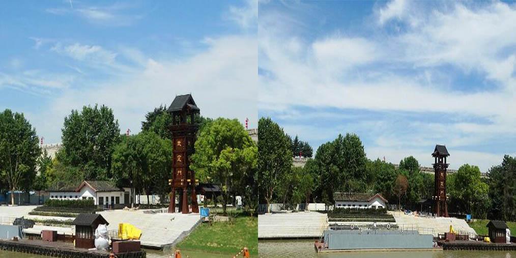 武定门码头改建完成 近日亮相外秦淮河畔