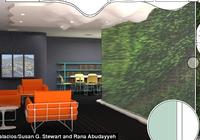 """未来""""植物墙"""":室内出现有害气体植物就会变色预"""
