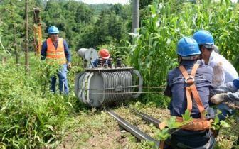 雅安暴雨致输电线路受损 目前已恢复4万余户供电