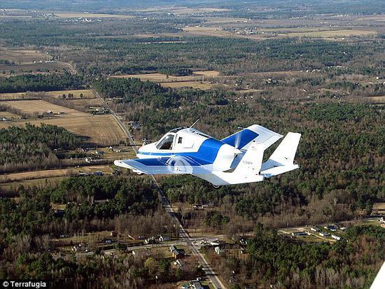 吉利旗下飞行汽车将于2019年上市 时速161公里