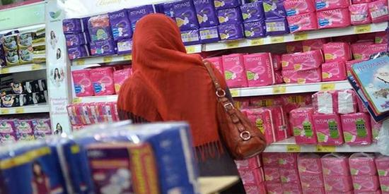 印度取消针对妇女的卫生巾税 女议员:行动太迟缓