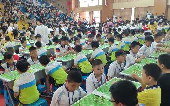 高仕足球棋2018(福建)夏季团体公开赛 500多名小选手