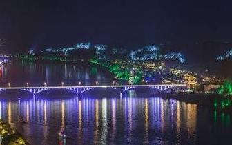 乐山夜游三江游览项目 预计本月底将恢复运行