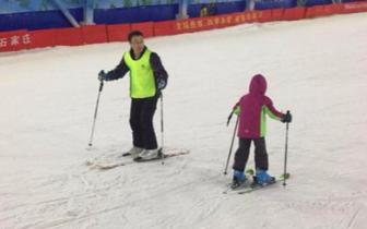 石家庄市冰雪体验进行时——冰雪进企业