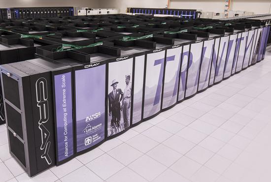 美国核武库超算打破世界纪录 两分钟创建万亿文件