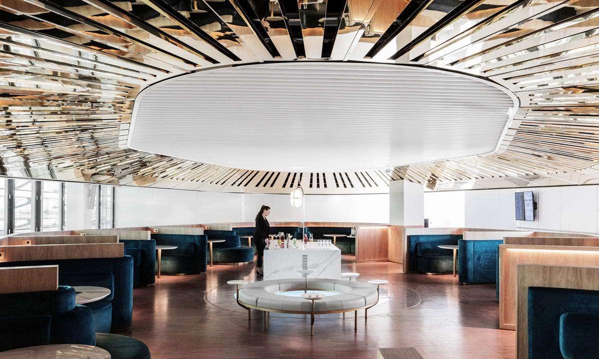 法航启用巴黎戴高乐机场全新贵宾休息室