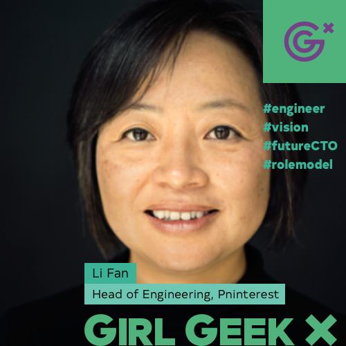 Li Fan 也成了科技女性的标杆人物