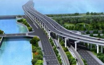 道庆洲大桥全面建设桩基 主墩下部结构年底基本完成