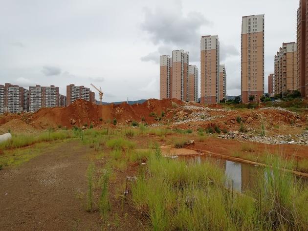 实探光明地产昆明意向项目:300多亩地已被政府收回