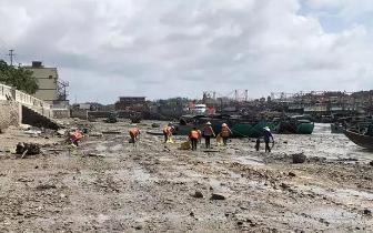 点赞!企沙大规模清理海滩 助力北部湾开海节